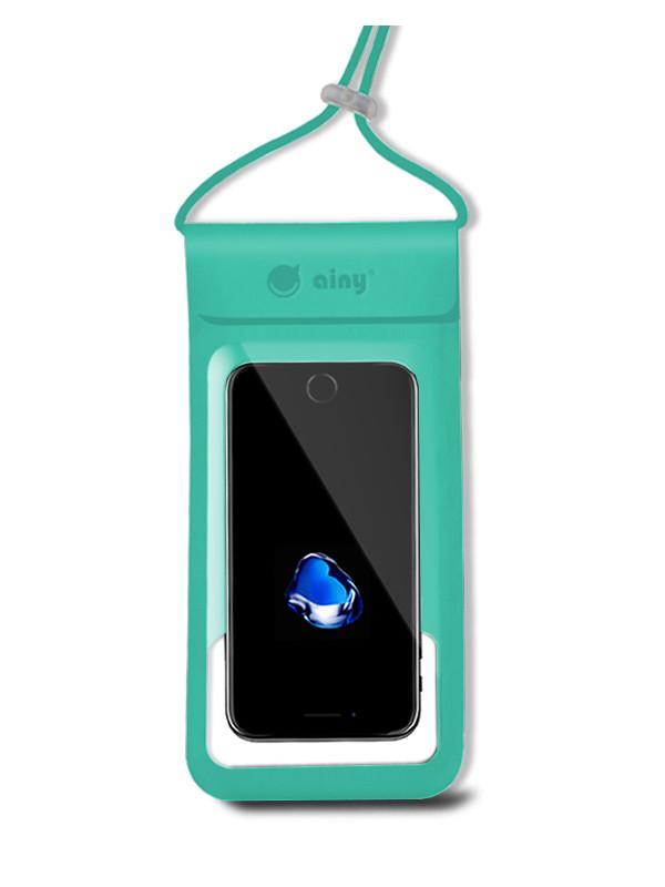Водонепроницаемый чехол Ainy 6.0-inch QE-001H Turquoise