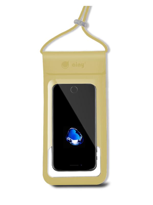 Водонепроницаемый чехол Ainy 6.0-inch QE-001L Gold