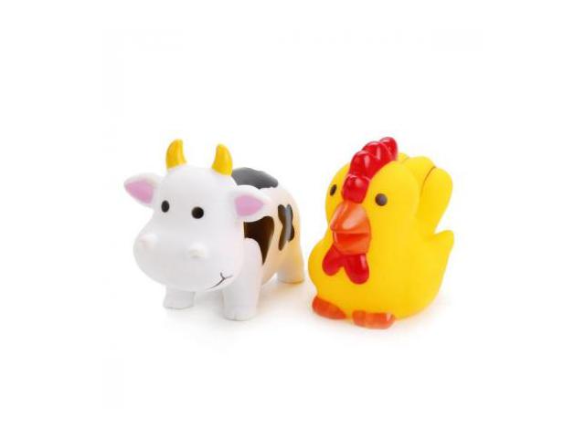 Игрушка Набор игрушек Играем вместе Корова и петух LXB105_107