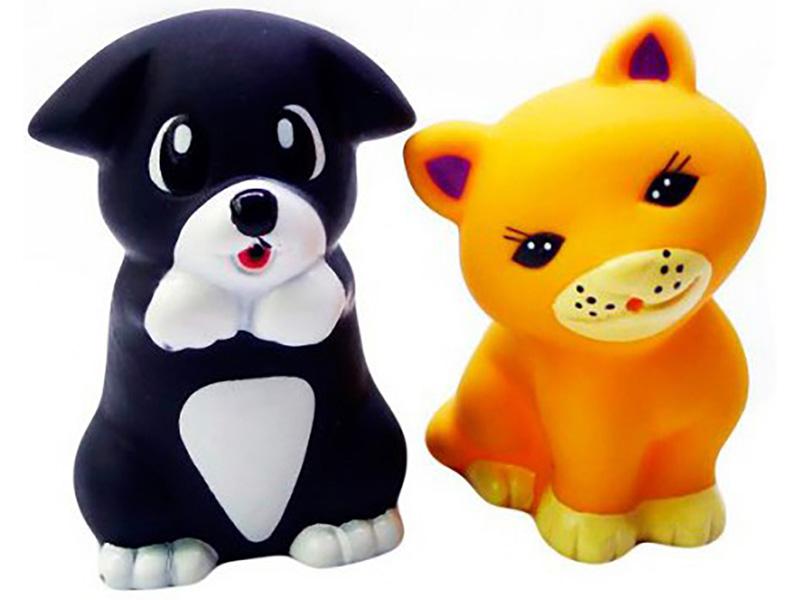 Игрушка Набор игрушек Играем вместе Щенок и кот LXB162_199