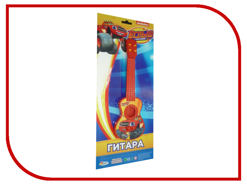 Детский музыкальный инструмент Играем вместе Гитара Вспыш B1632045-R3