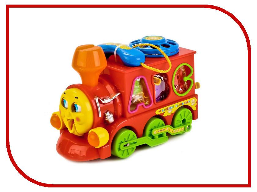 Игрушка Умка Паровозик из Ромашкова B655-H26001-J006-RU умка развивающая игрушка паровозик музыкальный цвет голубой