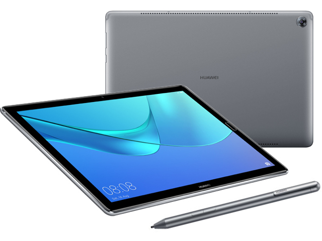 Планшет Huawei MediaPad M5 Pro 10.8 CMR-AL19 Grey (Kirin 960 1.8 GHz/4096Mb/64Gb/GPS/LTE/3G/Wi-Fi/Bluetooth/Cam/10.8/2560x1600/Android) планшет huawei mediapad m5 lite hisilicon kirin 710 2 2 3gb 32gb 8 ips wuxga wi fi bt 3g lte 13mpx 8mpx android 9 0 pie gray