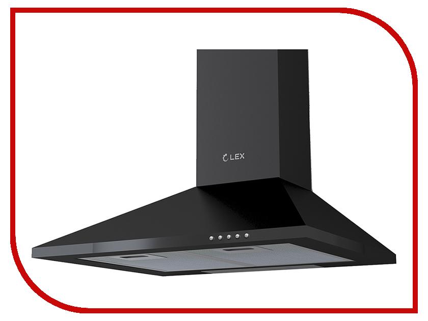 Кухонная вытяжка LEX Basic 600 Black кухонная вытяжка lex ori 600 black