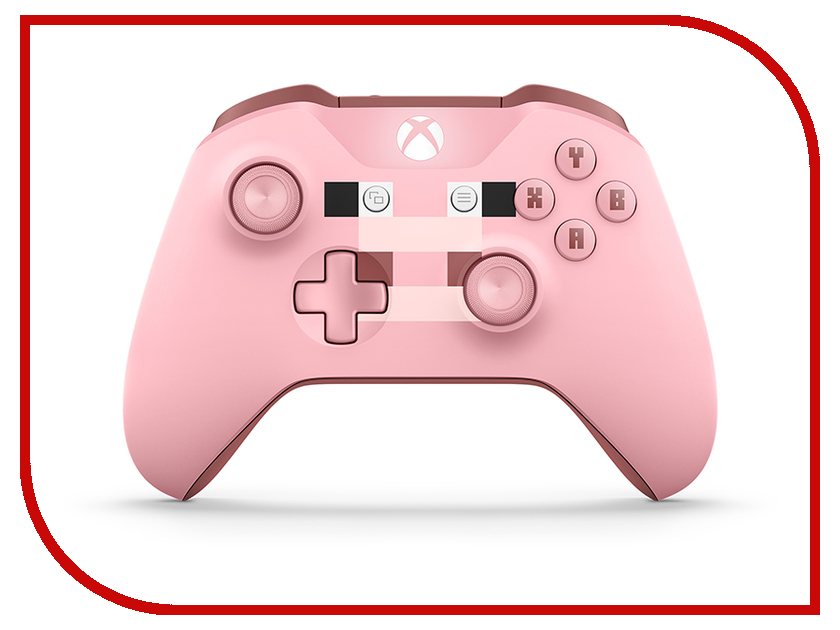 Microsoft Xbox One Wireless Controller Minecraft Series Pink 2pcs lot wireless dmx 512 receiver transmitter controller 2 4g wireless dmx512 lighting controller dmx512 free shipping