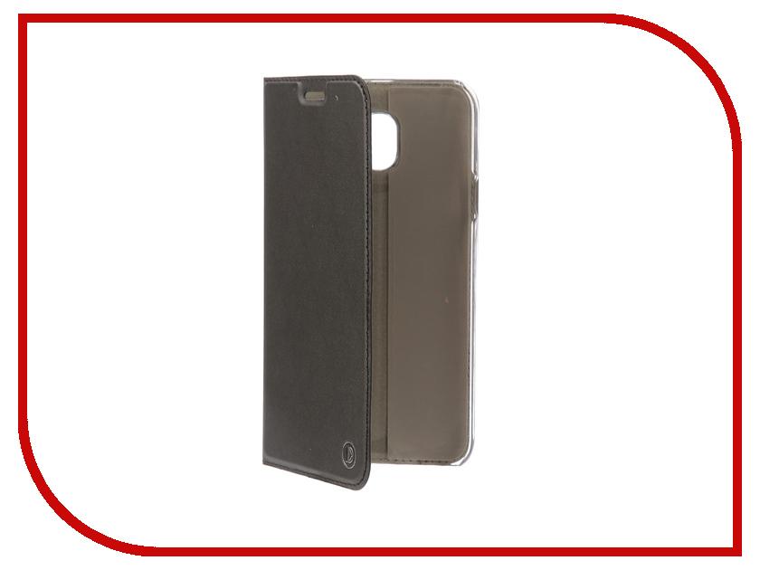 Аксессуар Чехол-книжка для Samsung Galaxy J4 2018 DYP Casual Wallet Black DYPCR00086 amalthea genuine leather wallet female