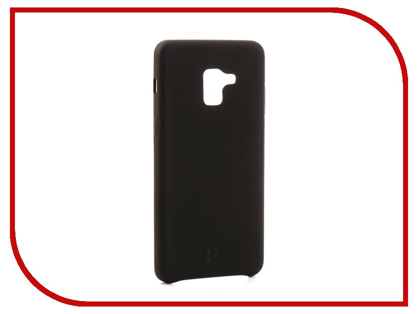 Аксессуар Чехол-книжка для Samsung Galaxy A8 Plus 2018 DYP Soft Touch Black DYPCR00035