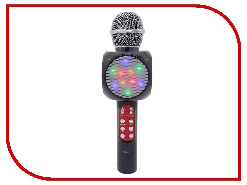 Караоке Handheld KTV WS-1816B Black handheld