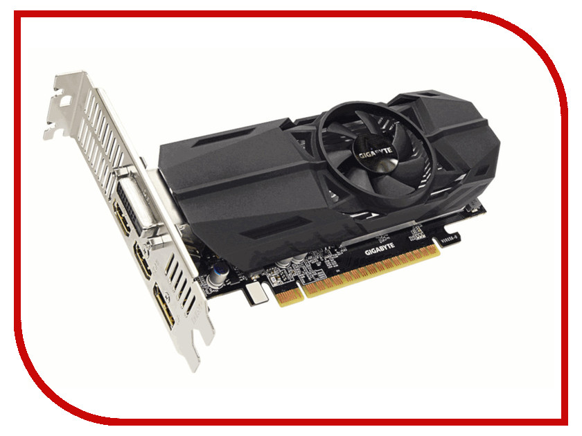 Видеокарта GigaByte GeForce GTX 1050 1404Mhz PCI-E 3.0 3072Mb 7008Mhz 96 bit DVI HDMI DP HDCP GTX 1050 OC Low Profile 3G GV-N1050OC-3GL нож складной boris manasherov s design wildcat karambit flipper satin finish d2 blade black g 10 handle