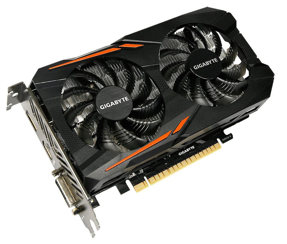 где купить Видеокарта GigaByte GeForce GTX 1050 1417Mhz PCI-E 3.0 3072Mb 7008Mhz 96 bit DVI HDMI DP HDCP GTX 1050 OC 3G GV-N1050OC-3GD дешево