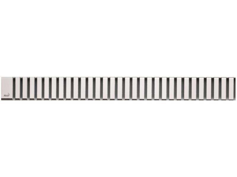 Решетка для водоотводящего желоба AlcaPlast LINE-1050L решетка alcaplast line матовая line 1050m