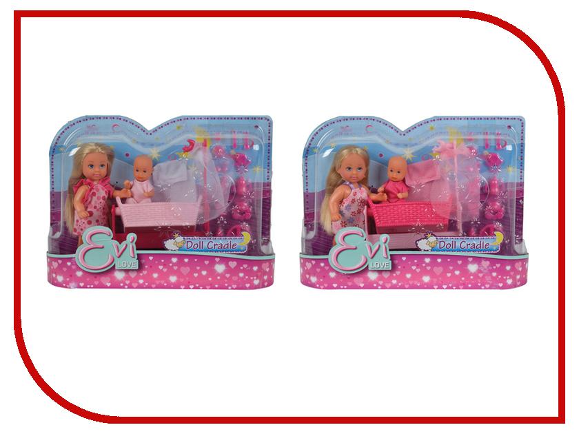 Кукла Simba Еви и пупс в кроватке 5736242