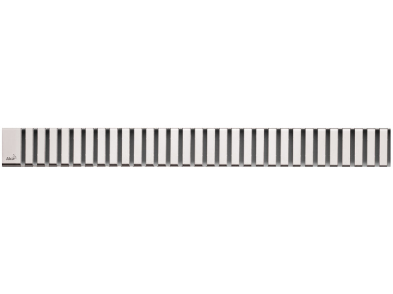 Решетка для водоотводящего желоба AlcaPlast LINE-550L решетка alcaplast line 550l