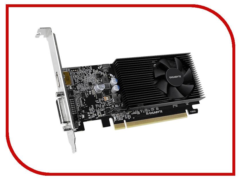 Видеокарта GigaByte GeForce GT 1030 1151Mhz PCI-E 3.0 2048Mb 2100Mhz 64 bit DVI HDMI HDCP GT 1030 Low Profile D4 2G GV-N1030D4-2GL рюкзак polar polar po001burvn34