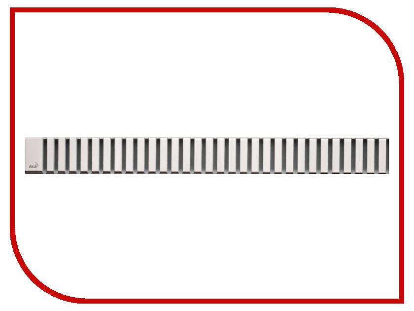 Решетка для водоотводящего желоба AlcaPlast LINE-750L решетка alcaplast cube глянцевая cube 750l