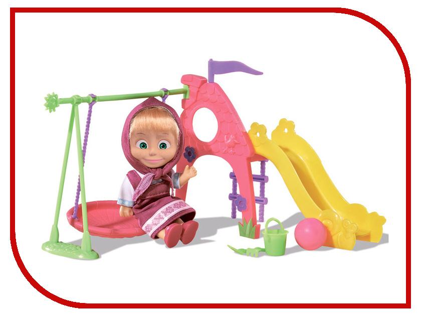 Кукла Simba Маша с детской игровой площадкой 9301816
