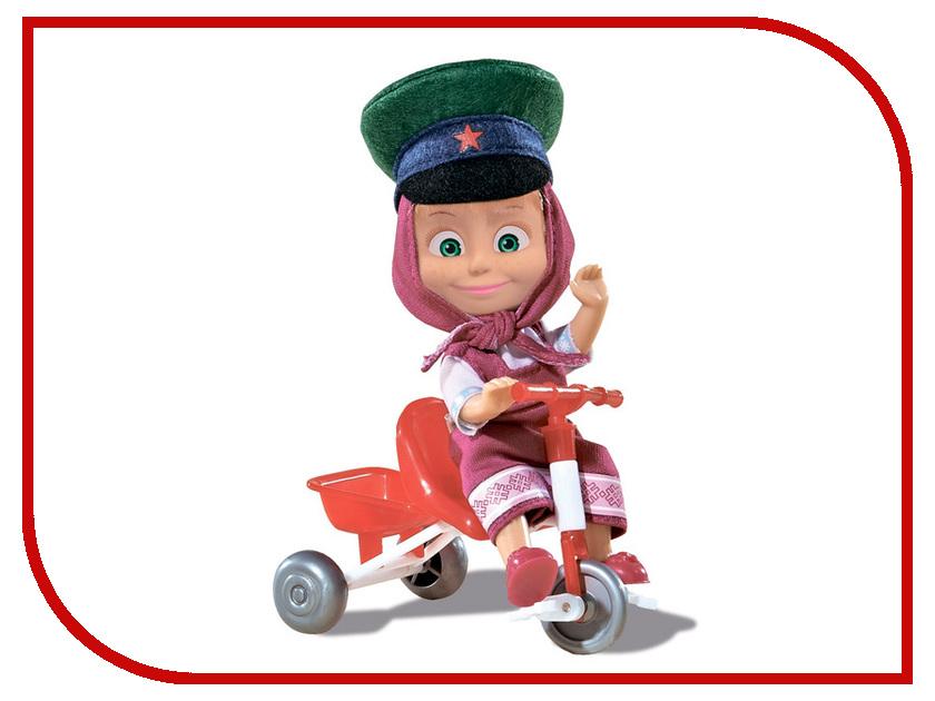 Кукла Simba Маша в фуражке с велосипедом 9301684