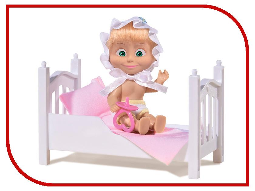 Кукла Simba Маша с кроваткой 9301821 погремушки simba букашка прорезыватель
