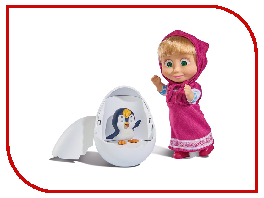 Кукла Simba Маша с пингвиненком в яйце 9301003 simba сортер грибок