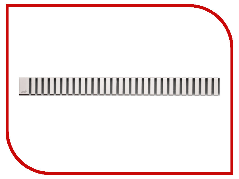 Купить Решетка Для Водоотводящего Желоба Alcaplast Line-550M