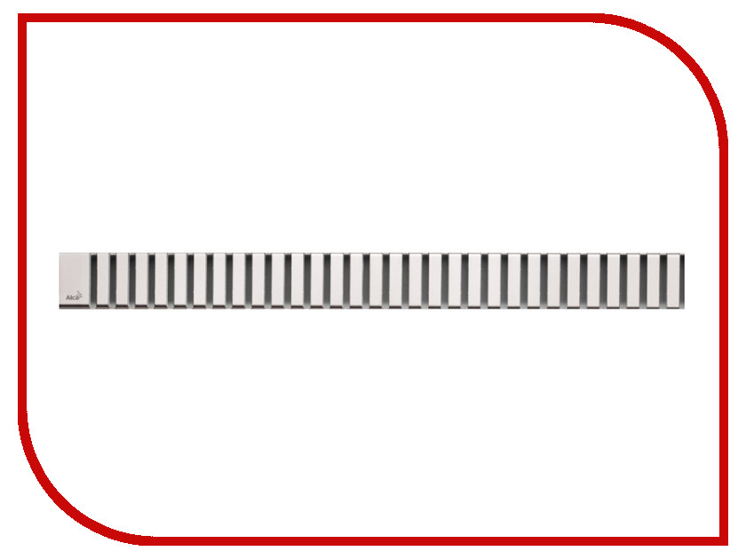 Купить Решетка Для Водоотводящего Желоба Alcaplast Line-650M