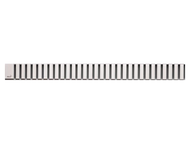 Решетка для водоотводящего желоба AlcaPlast LINE-650M решетка alcaplast line 550l