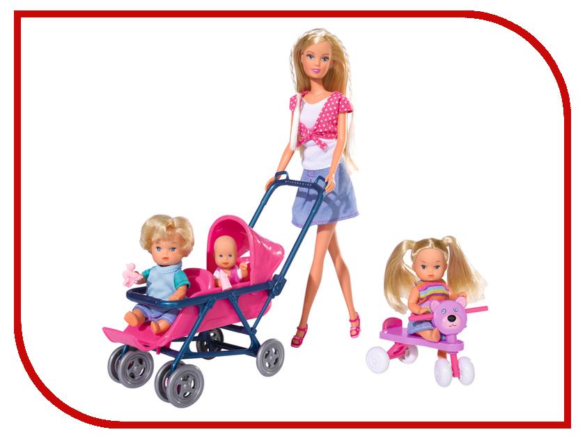 Кукла Simba Штеффи и дети 5736350 кукла штеффи в карете simba 5739125