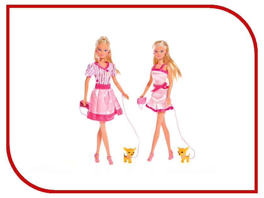 Кукла Simba Штеффи и собачка 5734908 кукла simba штеффи сказочное превращение 5736580