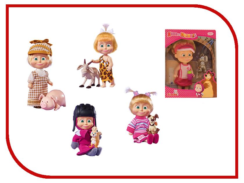 Кукла Simba Маша в разных одеждах с друзьями-животными 9302117 rk 763 кукла в украинском костюме росина 1147599