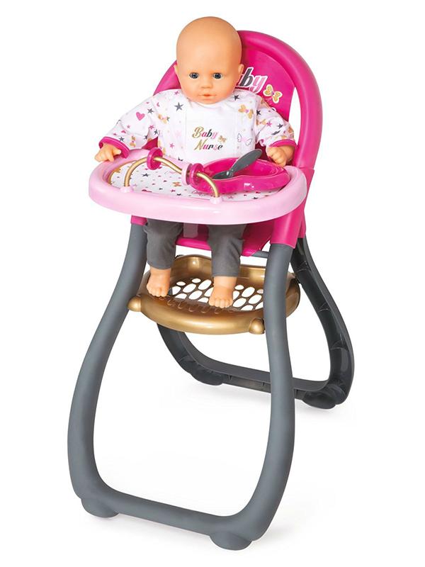 Стульчик для кормления пупса Smoby Baby Nurse 220310