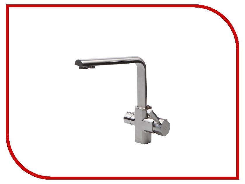 Смеситель Kaiser Decor 40144-5 Chrome Matte смеситель для мойки коллекция decor 40144 5 silver однорычажный серебро kaiser кайзер