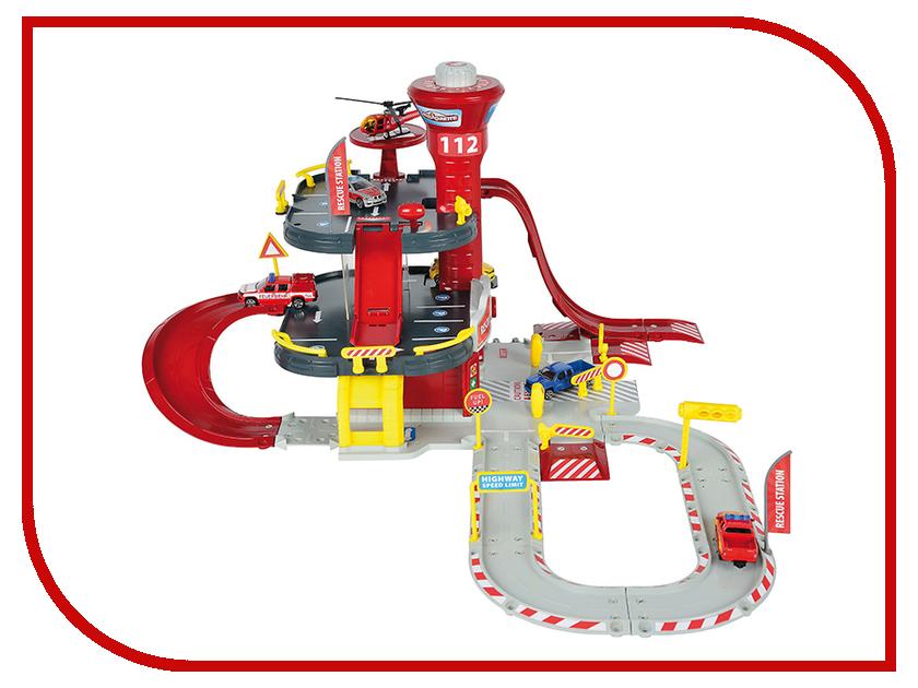 Игрушка Majorette Парковка пожарная станция Creatix 2050015 majorette majorette парковка creatix полицейская станция