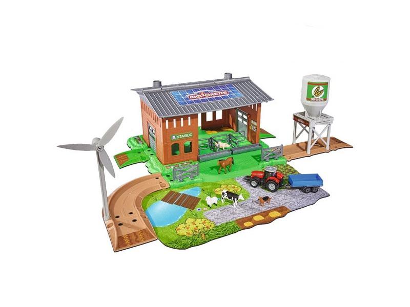 Игра Majorette Набор Ферма Creatix + трактор 2050007