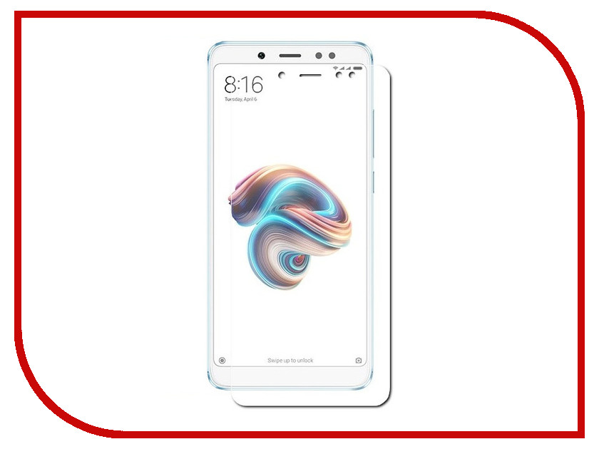 Аксессуар Защитное стекло для Xiaomi Redmi Note 5 LuxCase 0.2mm 82442 защитное стекло luxcase glass для xiaomi redmi note 4 глянцевое