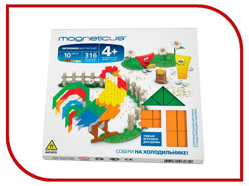 Настольная игра Magneticus Магнитная мозаика Ферма MC-002 мозаика magneticus мозаика магнитная ферма