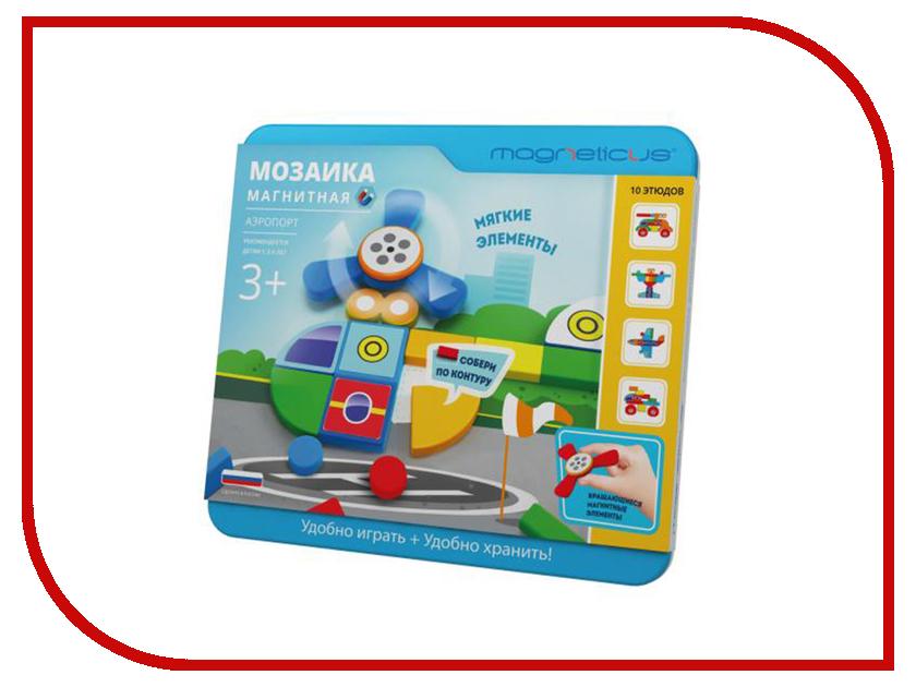 Настольная игра Magneticus Магнитная мозаика Аэропорт MC-006 мозаика magneticus мозаика магнитная ферма