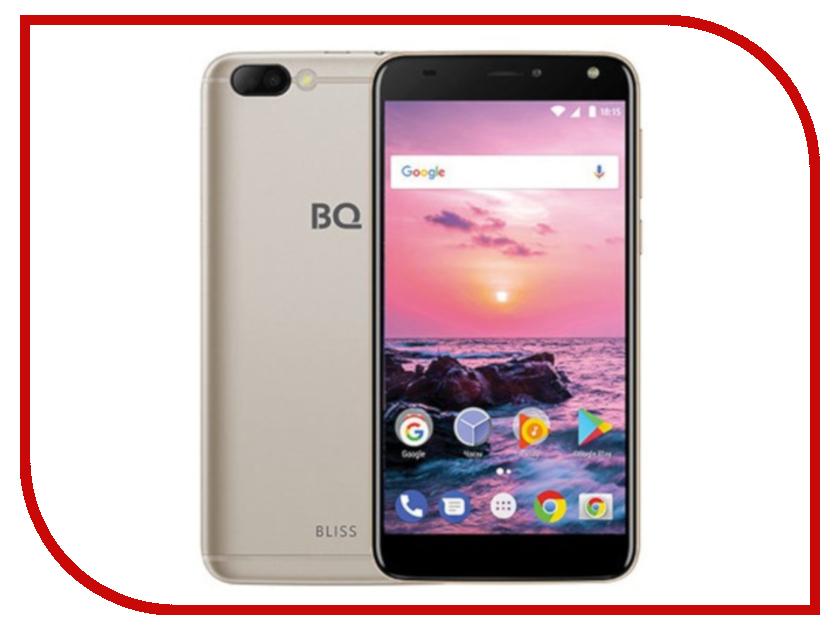 Сотовый телефон BQ BQ-5511L Bliss Gold сотовый телефон senseit t100 black