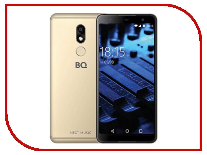 Сотовый телефон BQ BQ-5707G Next Music Gold сотовый телефон bq 5508l next lte golden