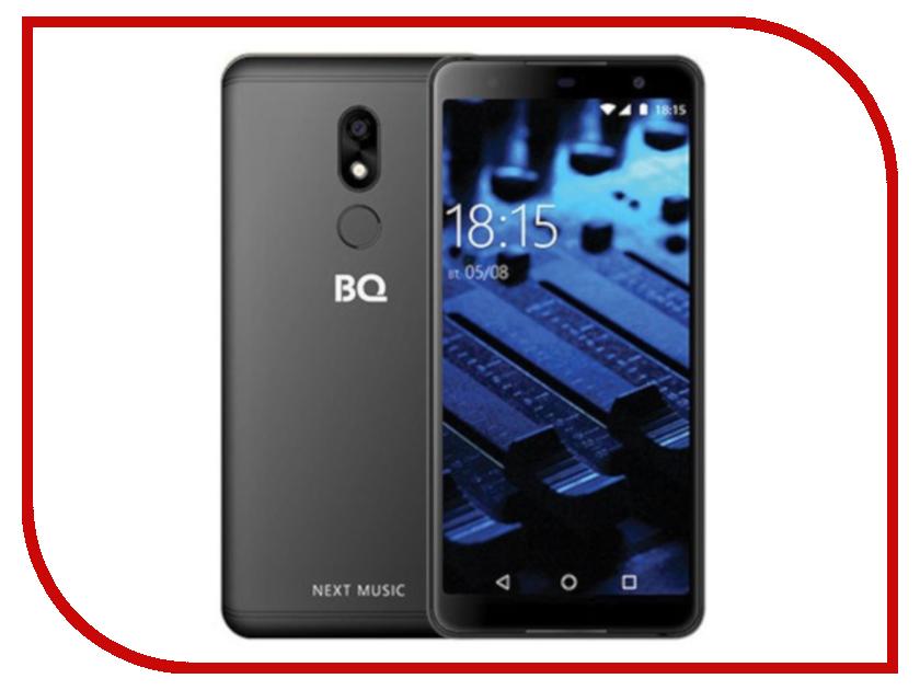 Сотовый телефон BQ BQ-5707G Next Music Black сотовый телефон bq 5508l next lte golden