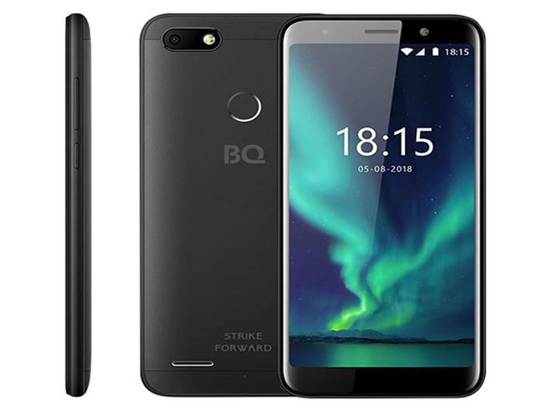 Сотовый телефон BQ 5512L Strike Forward Black цена и фото
