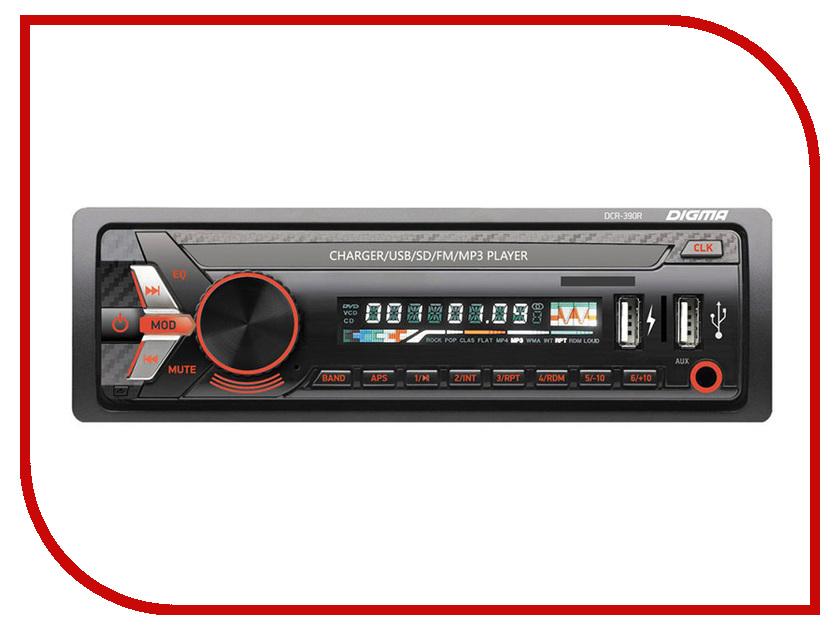 Автомагнитола Digma DCR-390R 200pcs 0805 390r 390 ohm 5