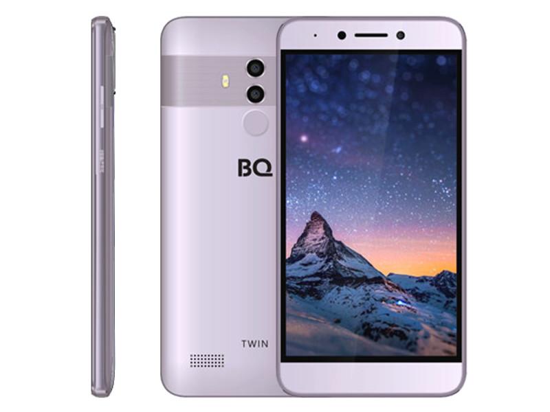 Сотовый телефон BQ 5516L Twin Grey смартфон bq bq 5517l twin pro grey
