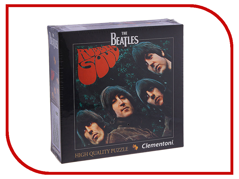 Пазл Clementoni The Beatles - Rubber Soul 21300 паззл clementoni the beatles в тубе 500 эл across the universe арт 21200 a