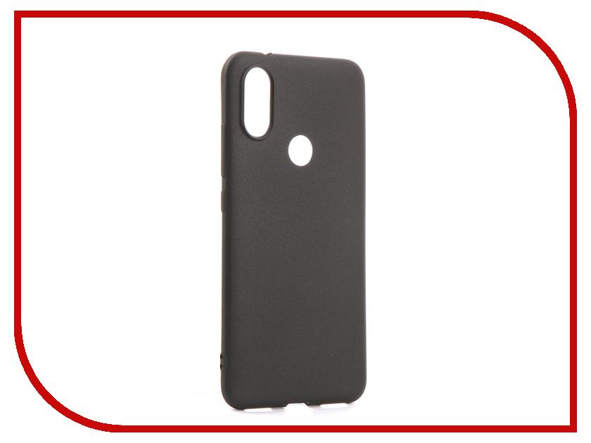 Аксессуар Чехол для Xiaomi Mi6X X-Level Guardian Black 2828-147 аксессуар чехол xiaomi mi6 brosco silicone black xm mi6 tpu black
