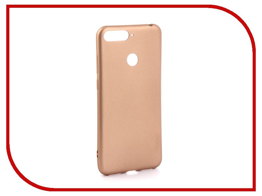 Аксессуар Чехол для Huawei Honor 7A Pro X-Level Guardian Series Gold 2828-134