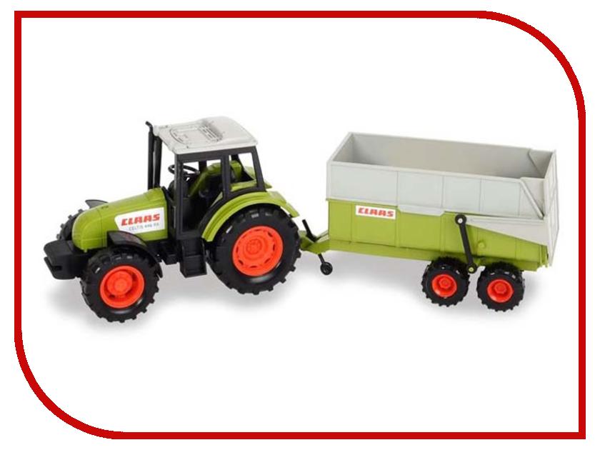 Игрушка Dickie Toys Трактор с прицепом 3736004 трактор с прицепом металл 3вида 18см 12 48 dickie