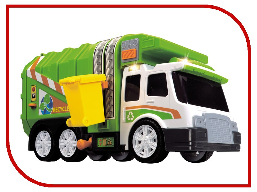 Игрушка Dickie Toys Мусоровоз 3308357 игрушка tonka minis мусоровоз musorovoz ast51296