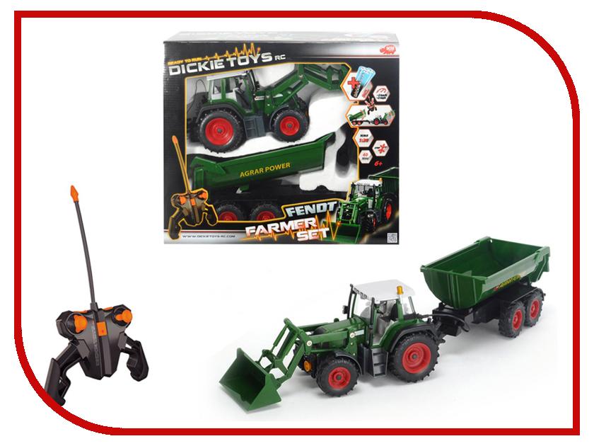 Игрушка Dickie Toys Трактор с прицепом 19266 трактор с прицепом металл 3вида 18см 12 48 dickie
