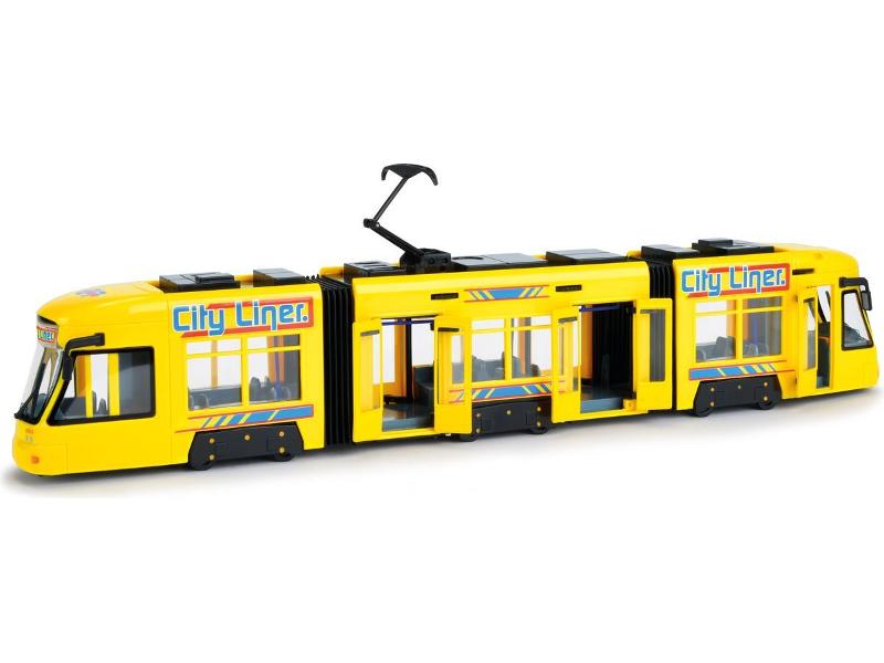 Игрушка Dickie Toys Городской трамвай Yellow (3749005) 46 см