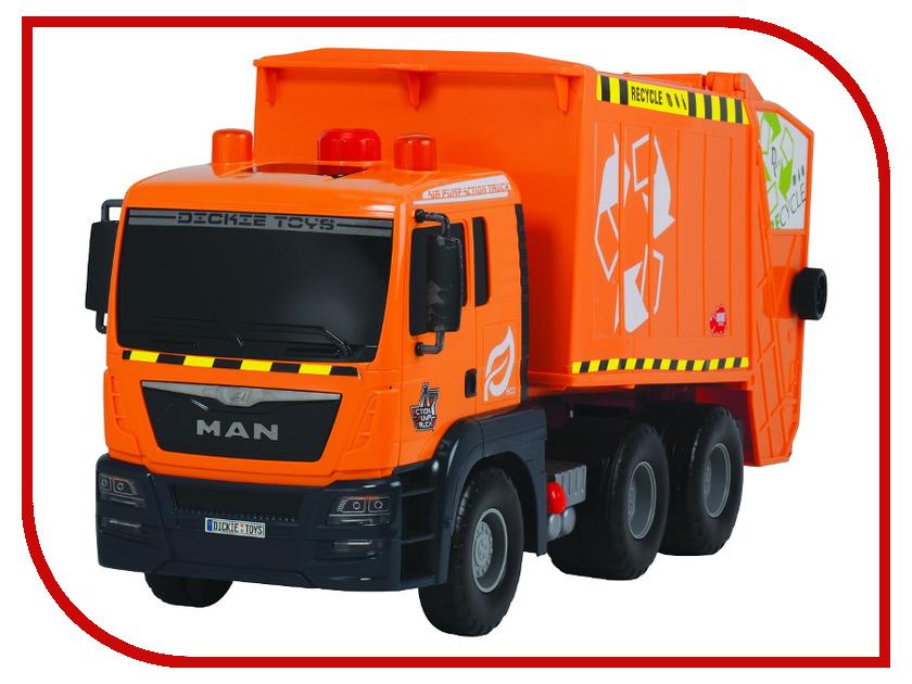 Игрушка Dickie Toys Мусоровоз AirPump 3809000 dickie toys 15см